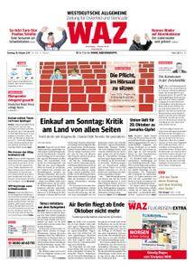 WAZ Westdeutsche Allgemeine Zeitung Oberhausen-Sterkrade - 10. Oktober 2017