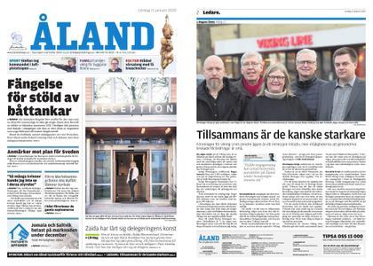 Ålandstidningen – 11 januari 2020
