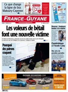 France Guyane du Mardi 7 Février 2017