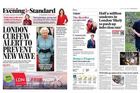 London Evening Standard – September 16, 2020