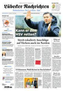 Lübecker Nachrichten Ostholstein Süd - 13. März 2018