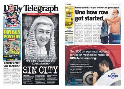 The Daily Telegraph (Sydney) – September 15, 2017