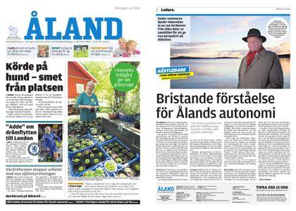 Ålandstidningen – 02 juli 2018