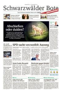 Schwarzwälder Bote Blumberg - 22. November 2018