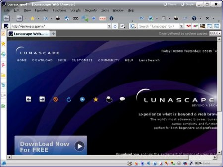 Lunascape Web Browser v6.0.1 ORION Portable