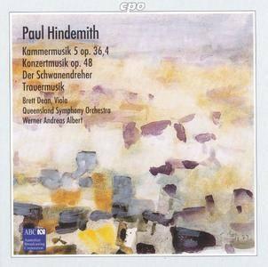 Brett Dean - Hindemith: Viola Concertos (1999)