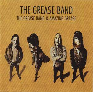 The Grease Band - Grease Band (1971) + Amazing Grease (1975) 2 LP on 1 CD, 1991