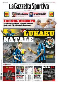 La Gazzetta dello Sport Bergamo – 22 dicembre 2019