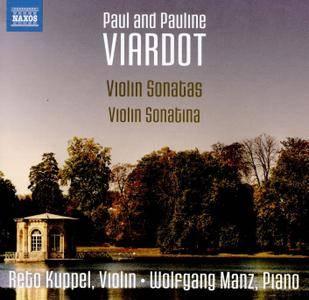 Reto Kuppel & Wolfgang Manz - Pauline Viardot: Violin Sonatina - Paul Viardot: Violin Sonatas Nos. 1-3 (2017)