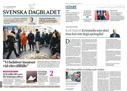 Svenska Dagbladet – 12 november 2019