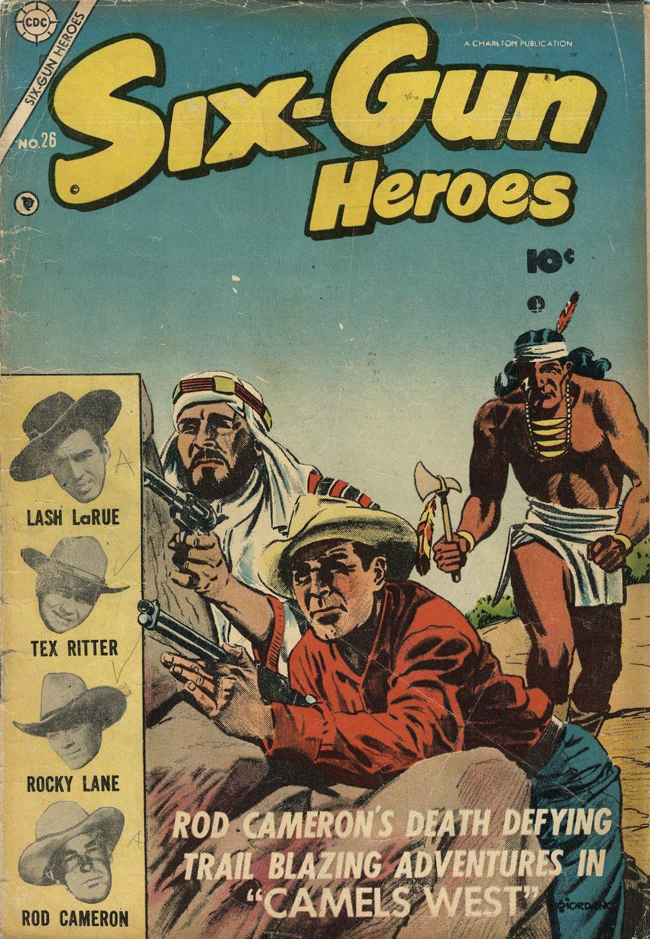 Six-Gun Heroes 026 1954 Charlton c2c
