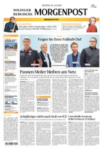 Solinger Morgenpost – 30. Juli 2019