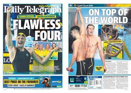 The Daily Telegraph (Sydney) – April 06, 2018