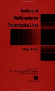 Analysis of Multiconductor Transmission Lines (repost)