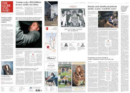 The Globe and Mail – April 06, 2018