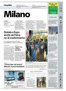 la Repubblica Milano - 24 Novembre 2018