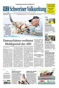Schweriner Volkszeitung Ludwigsluster Tageblatt - 14. September 2019