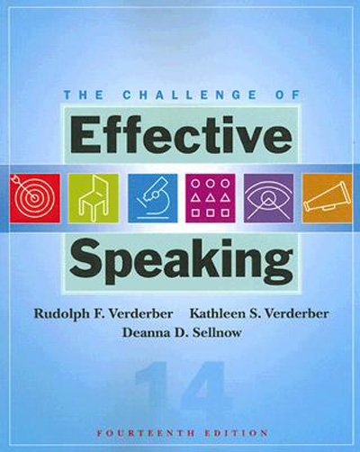 The Challenge of Effective Speaking (14th Edition)