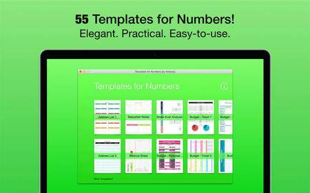 Templates for Numbers (by Nobody) 1.1 Mac OS X