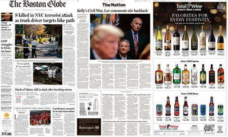 The Boston Globe – November 01, 2017