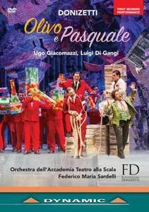 Federico Maria Sardelli, Orchestra dell' Accademia Teatro alla Scala - Donizetti: Olivo e Pasquale (2017)
