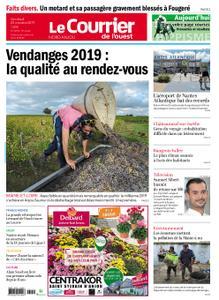 Le Courrier de l'Ouest Nord Anjou – 25 octobre 2019