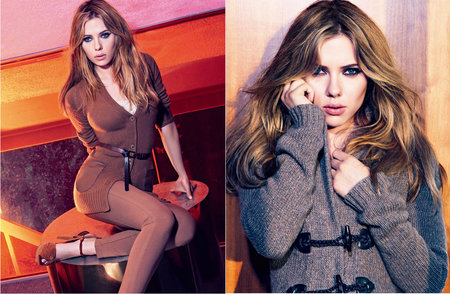 Scarlett Johansson by Mario Sorrenti for Mango Fall 2010 Campaign