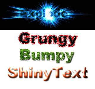 4 Nice Text Effect Actions for Photoshop
