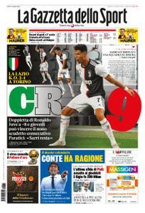 La Gazzetta dello Sport Sicilia – 21 luglio 2020