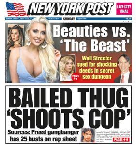 New York Post - August 1, 2021