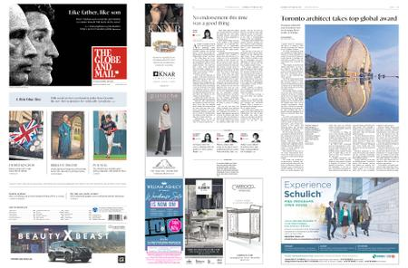 The Globe and Mail – October 26, 2019