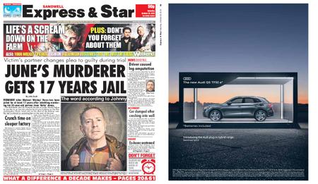 Express and Star Sandwell Edition – October 26, 2019