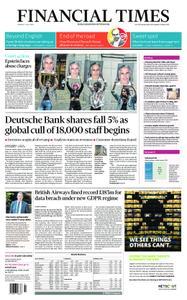 Financial Times UK – July 09, 2019