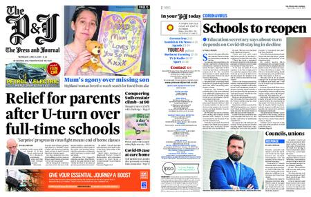 The Press and Journal Moray – June 24, 2020