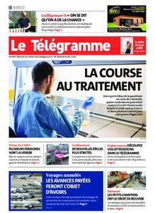 Le Télégramme Brest Abers Iroise – 24 mars 2020