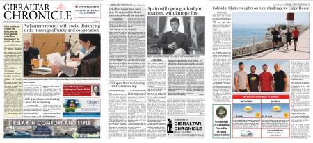 Gibraltar Chronicle – 29 May 2020