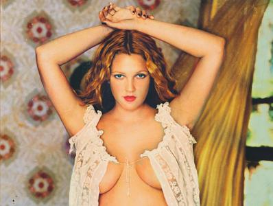 Drew Barrymore by Mark Seliger for Rolling Stone November 23rd, 2000