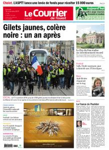 Le Courrier de l'Ouest Cholet – 16 novembre 2019