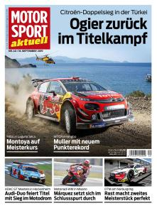 Motorsport Aktuell - 18 September 2019