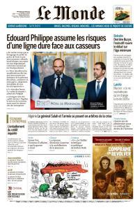 Le Monde du Mercredi 20 Mars 2019