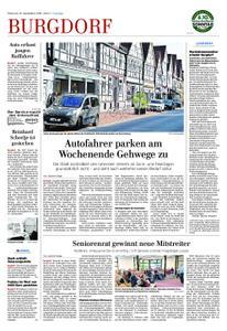 Anzeiger Burgdorf - 18. September 2019
