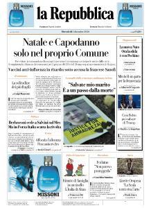 la Repubblica - 2 Dicembre 2020
