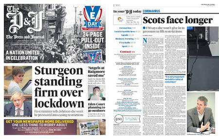The Press and Journal Moray – May 08, 2020
