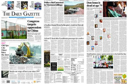 The Daily Gazette – December 28, 2019