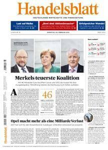Handelsblatt - 06. Februar 2018