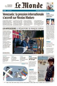 Le Monde du Mardi 5 Février 2019