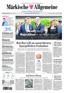 Märkische Allgemeine Luckenwalder Rundschau - 22. Mai 2019