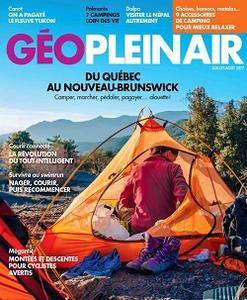 Géo Plein Air - Juillet/Août 2017
