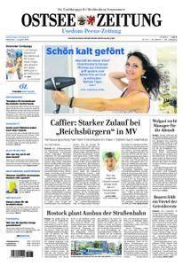 Ostsee Zeitung Wolgast - 01. August 2018