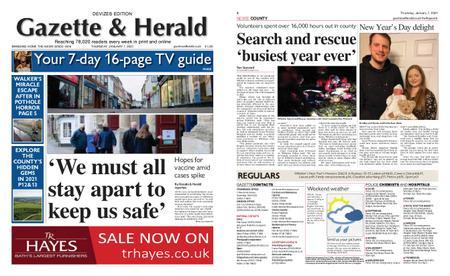 Gazette & Herald – January 07, 2021